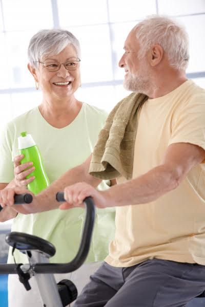 Träning bra för äldre