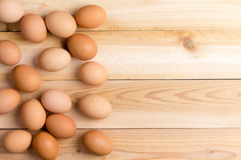 Ägg är rikt på protein