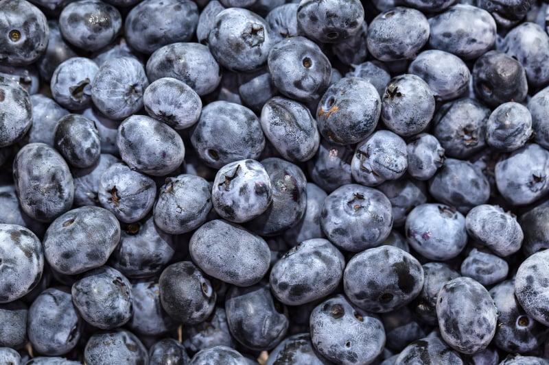 vilka vitaminer finns i blåbär