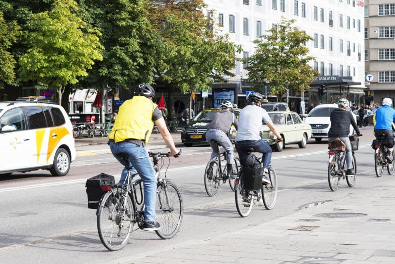 Cykla är bra vardagsmotion